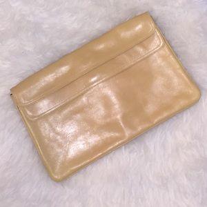 VINTAGE Saks Fifth Avenue Italy Pouch Handbag